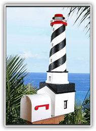 St. Augustine Lighthouse Mailbox