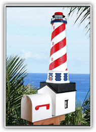 American Lighthouse Mailbox