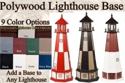 Polywood Lighthouse Base