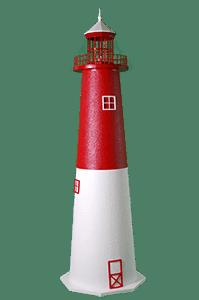 Barnegat Lighthouse - E-line Stucco Yard Lighthouse
