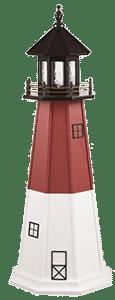 Barnegat Lighthouse - Wooden Garden Lighthouse