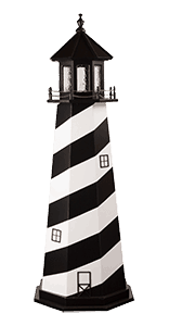 Wooden Cape Hatteras Lighthouse