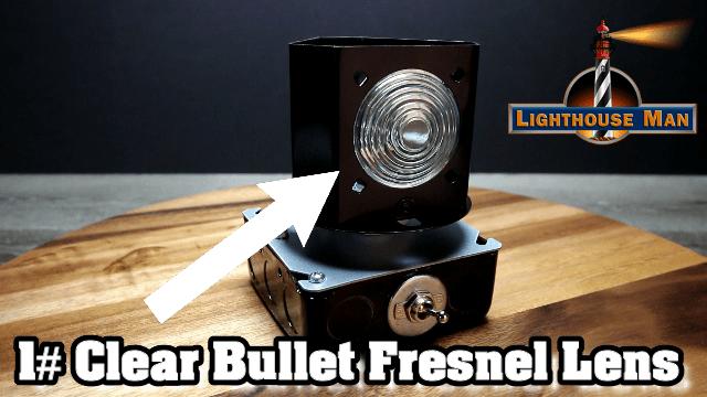 Deluxe Revolving Beacon Fresnel Lens