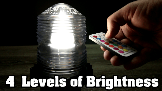 Color Changing Fresnel Lens 4 brightness levels