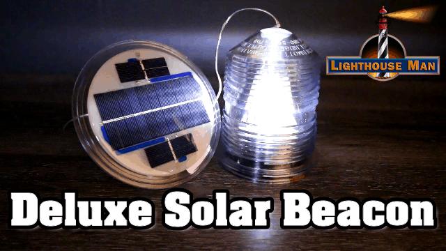 Lawn Lighthouse Solar Beacon