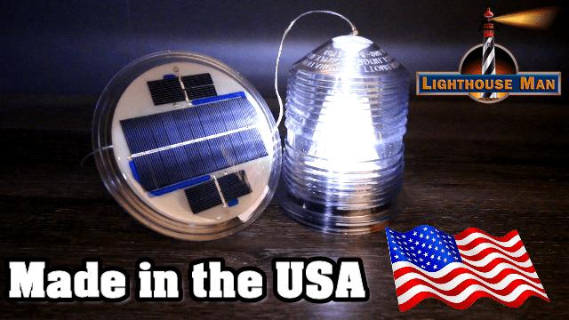 Deluxe Solar Beacon Made in USA