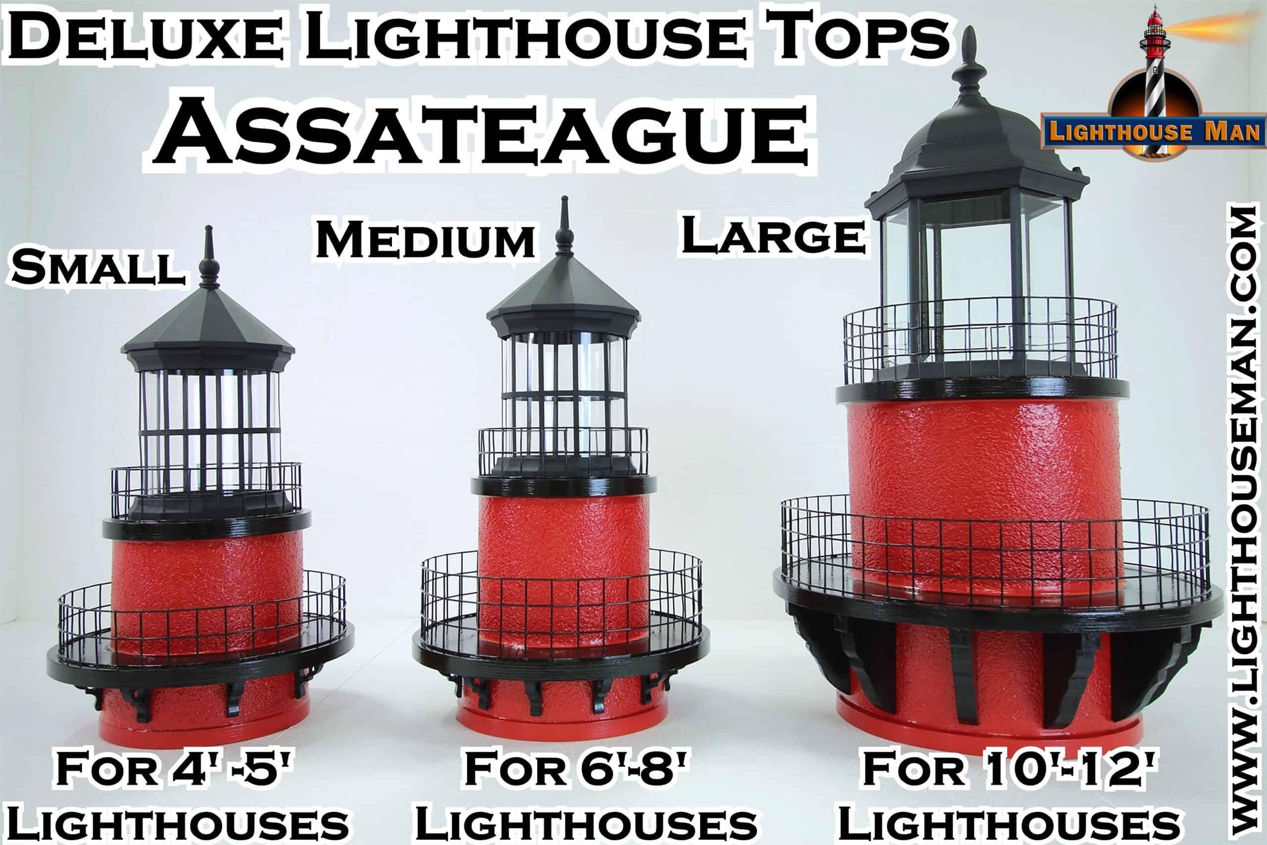 Deluxe Assateague Lighthouse Tops