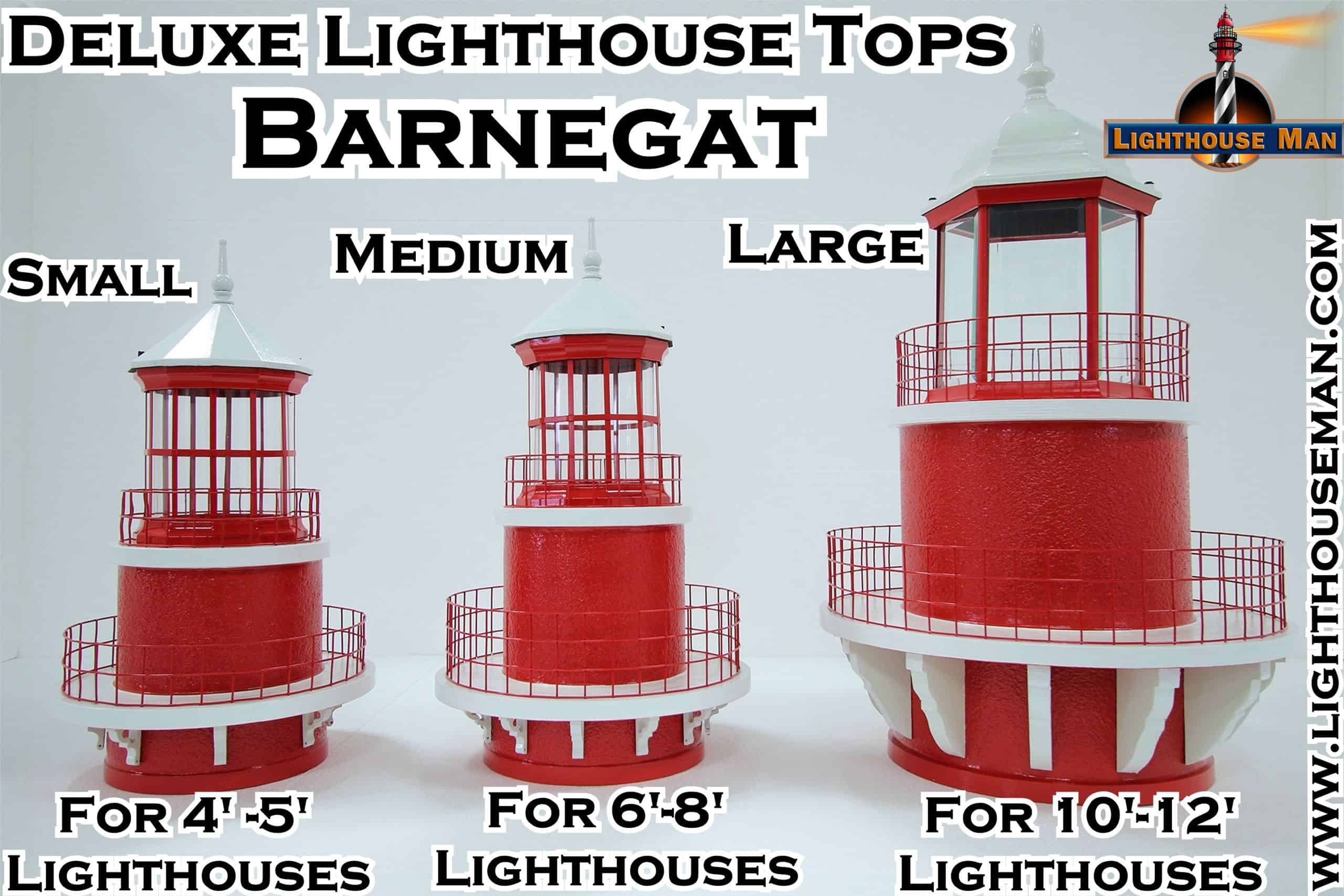 Deluxe Barnegat Lighthouse Tops