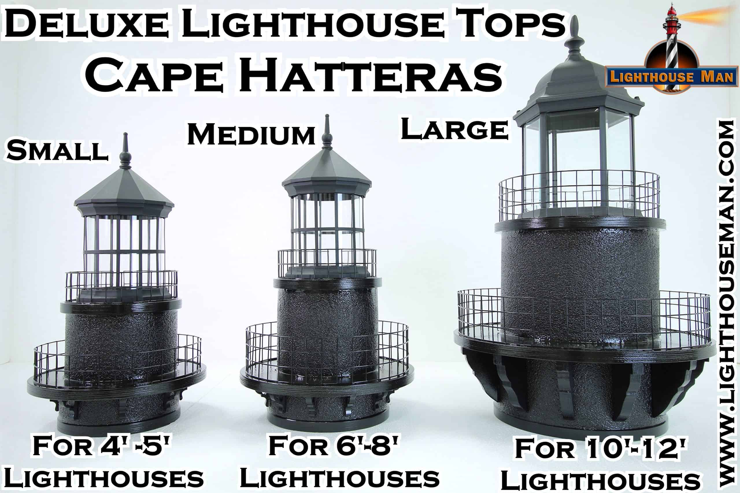 Cape Hatteras Deluxe Lighthouse Tops
