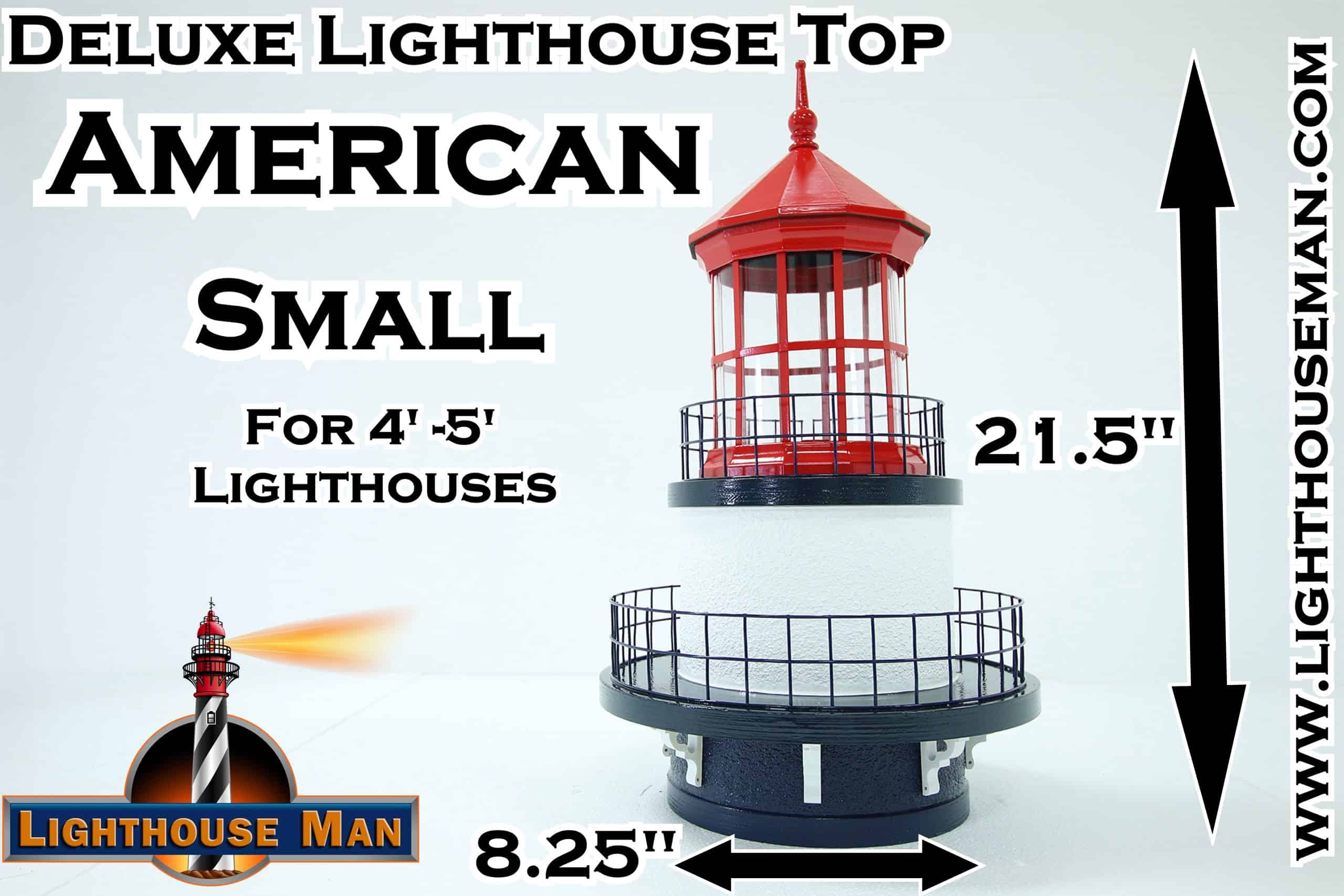 Deluxe Small American Lighthouse Top