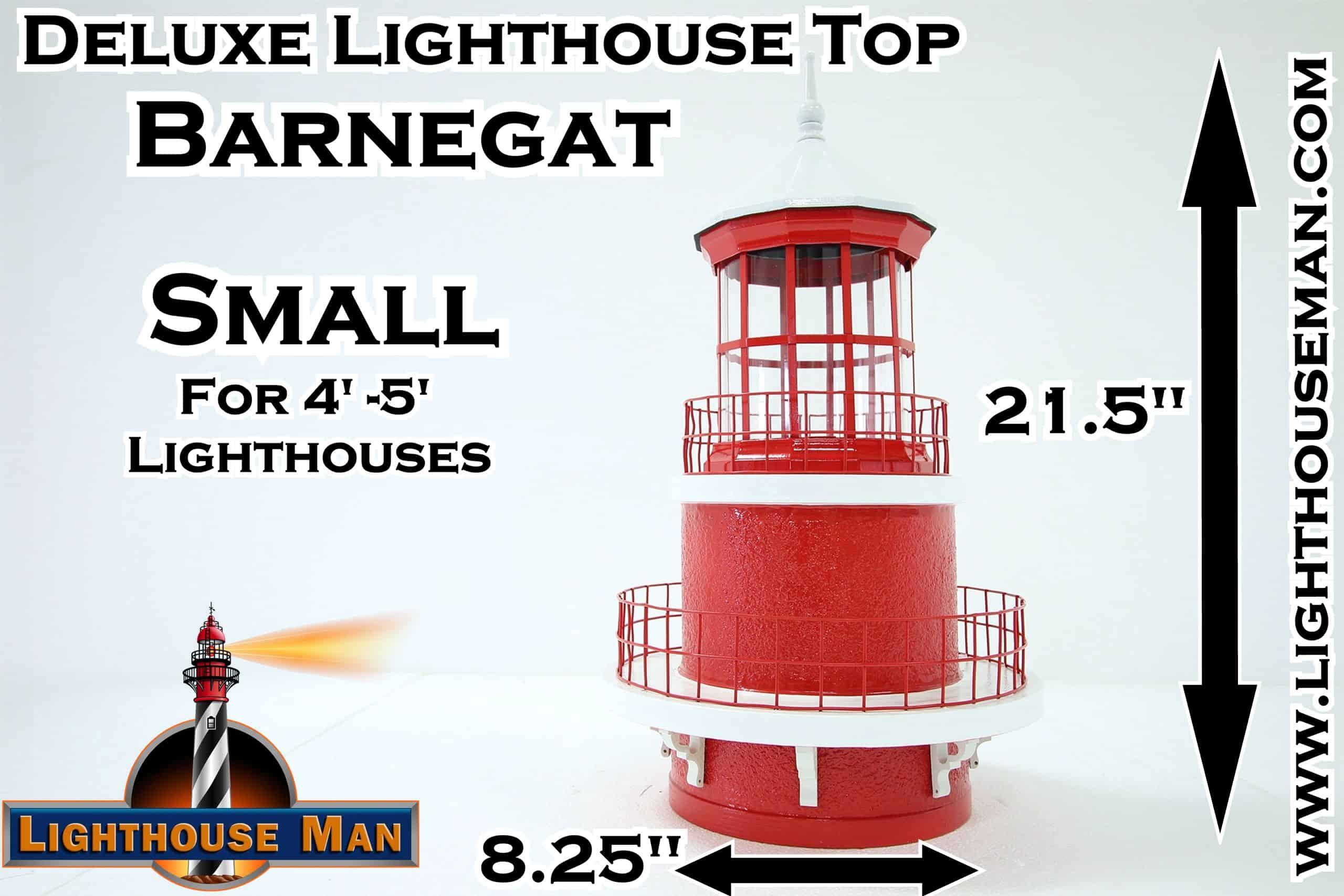 Deluxe Small Barnegat Lighthouse Top