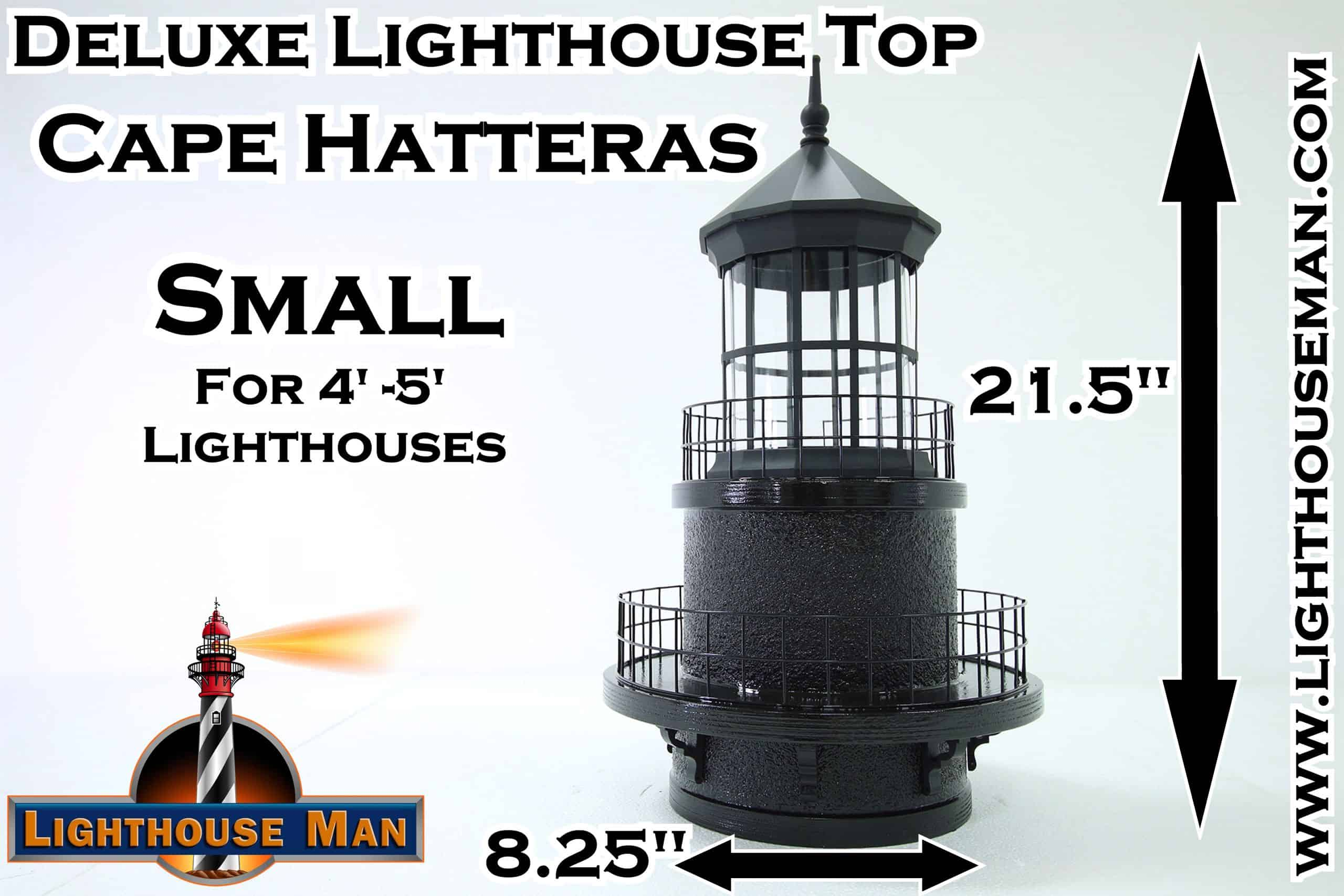 Deluxe Small Cape Hatteras Lighthouse Top