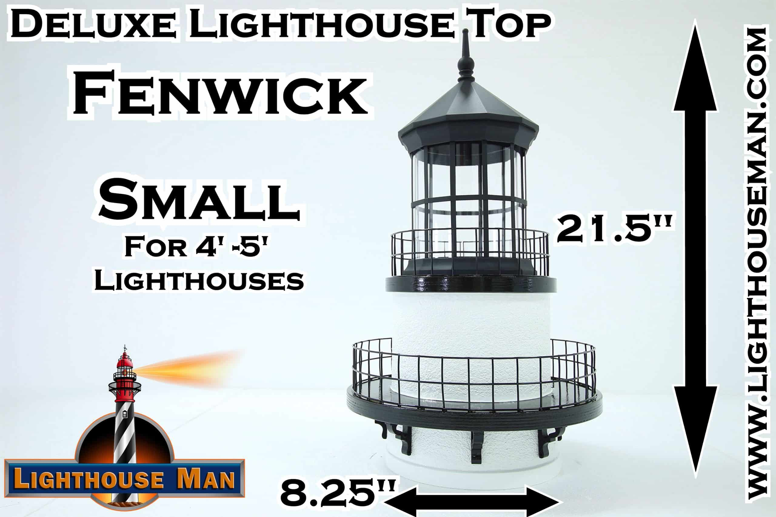Deluxe Small Fenwick Lighthouse Top