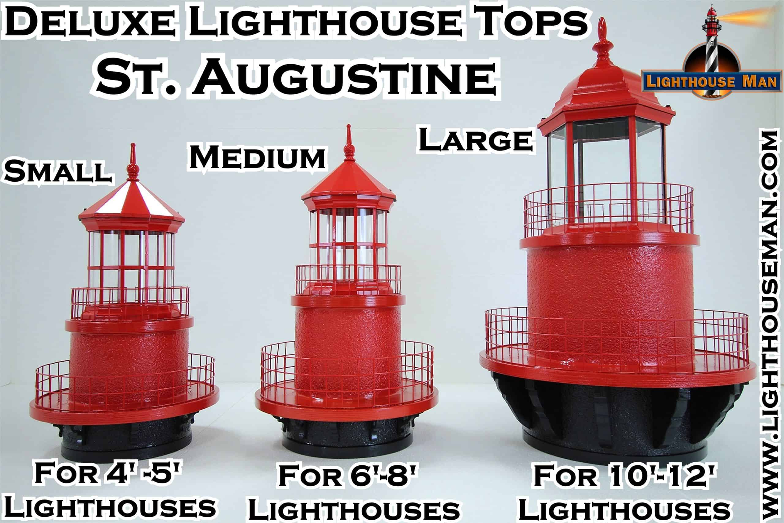 Deluxe St Augustine Lighthouse Tops